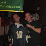 Tim's Superb Gift to Brian, a Wake Forest #10 Jersey (2010, the founding of TLD)