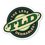 The Official The Less Desirables Sticker -- $2.00 each